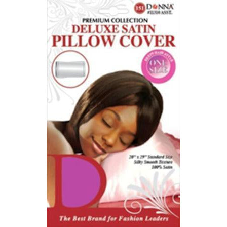 Donna Delux Satin Pillow Cover