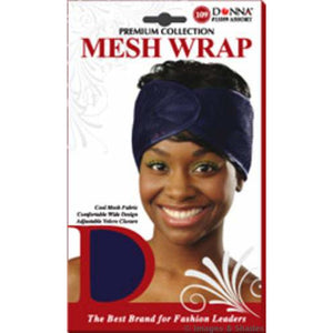 Donna Hair Care Treatment Mesh Wrap Assorted Color