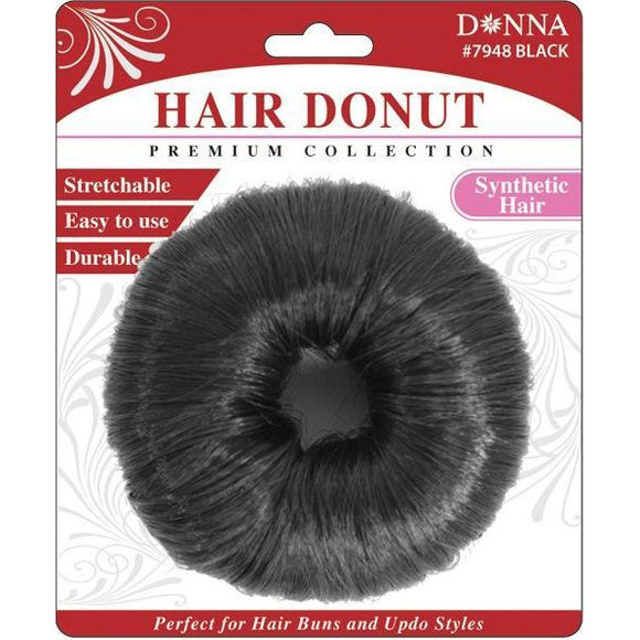 Donna Hair Donut Synthetic Sk