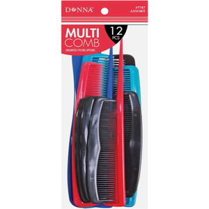 Donna Multi Combs 12Pieces