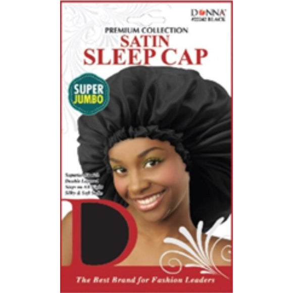 Donna Premium Super Jumbo Satin Sleep Cap