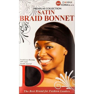 Donna Satin Bonnet Braid