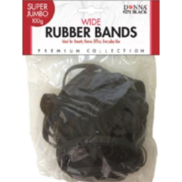 Donna Wide Rubber Bands Su/Jumbo