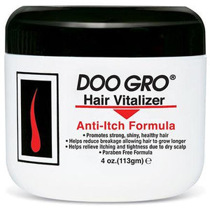 Doo Gro Hair Vitalizer, Anti Itch Formula, 4 Oz