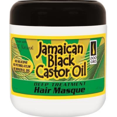 Doo Gro Jamaican Black Castor Oil Hair Masque, 6 Oz