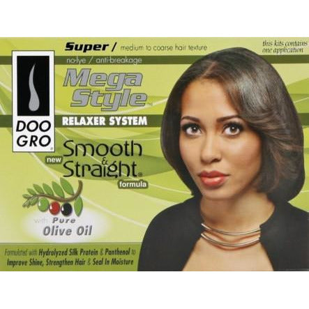 Doo Gro Relaxer Kit Super With Olive Oil