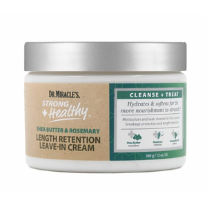 Dr.Miracle'S Strong + Healthy Leave In Cream 12Oz