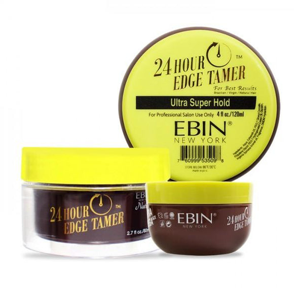 Ebin New York 24 Hour Edge Tamer Ultra Super Hold, 0.5 Oz
