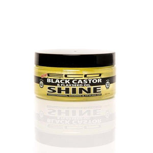 Eco Styler Black Castor And Flaxseed Oil Conditioning Styling And Shining Gel 8 Oz