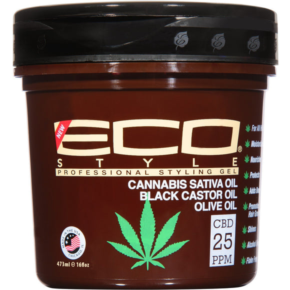 Ecoco Style Gel Cannabis Gel 16 Oz