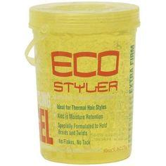Ecoco Style Gel Yellow 5.5 Lb