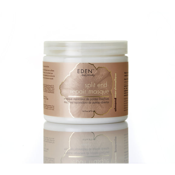Eden Almond Marshmallow Split End Repair Masque, 16 Oz