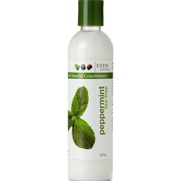 Eden Body Works Peppermint Tea Tree Conditioner, 8 Oz