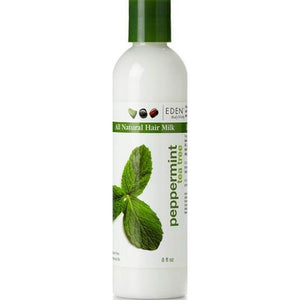 Eden Body Works Peppermint Tea Tree Hair Milk, 8 Oz