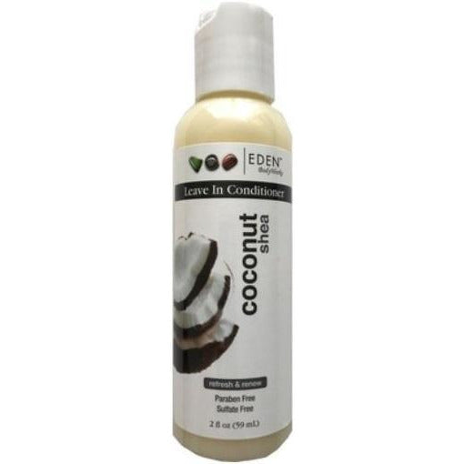 Eden Bodyworks Coconut Shea Leave-In Conditioner, 2 Oz