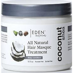 Eden Coconut Shea Hair Masque 16Oz