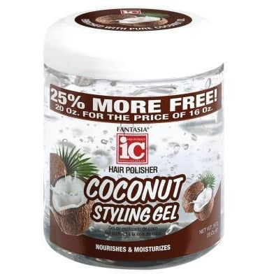 Fantasia Coconut Styling Gel Bonus 20 Oz