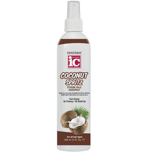 Fantasia Ic Coconut Spritz - Xtreme Hold -12 Oz