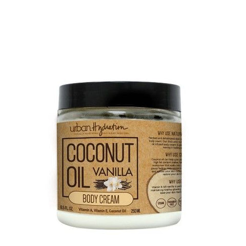 Urban Hydration Coconut Oil Body Cream with Lemon Extract 15.2oz