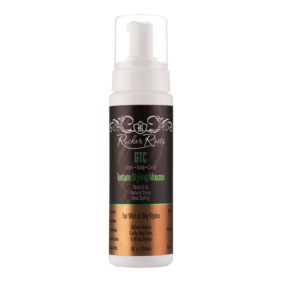Rucker Roots Gtc Texture Hair Styling Mousse - 8 Fl Oz