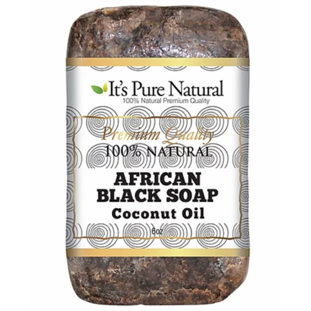 Galactic African Black Soap | Raw Unrefined & Pure | 5 Oz