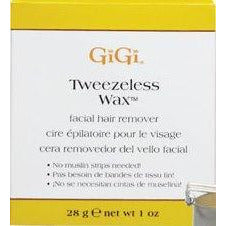 Gigi Tweezeless Wax Facial Hair Remover, 1 Oz