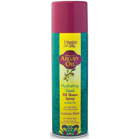 Hawaiian Silky Argan Sheen Spray 15 Oz