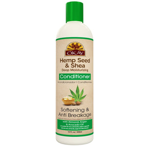 Hemp Seed & Shea, Deep Moisturizing Conditioner, 12oz