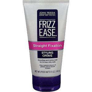 John Frieda Frizz-Ease Straight Fixation Styling Crème, 5 Oz