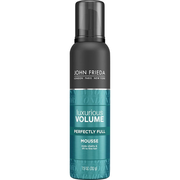John Frieda Luxurious Volume Thickening Mousse, 7.5 Oz