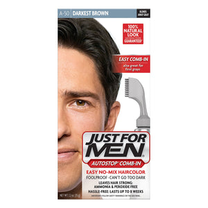 Just For Men Autostop Comb-In Hair Color Dark Brown