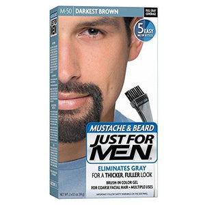 Just For Men Mustache & Beard Darkest Brown