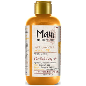 Maui Moisture Curl Quench + Coconut Oil Curl Milk 8 Oz