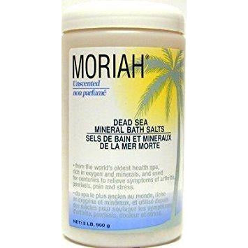 Moriah Dead Sea Salts 1 Lb Unscented