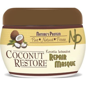 Nature's Protein Coconut Restore Keratin Intensive Repair Masque, 8 Oz