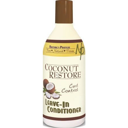 Nature's Protein Coconut Restore Leave In Conditioner, 13 Oz