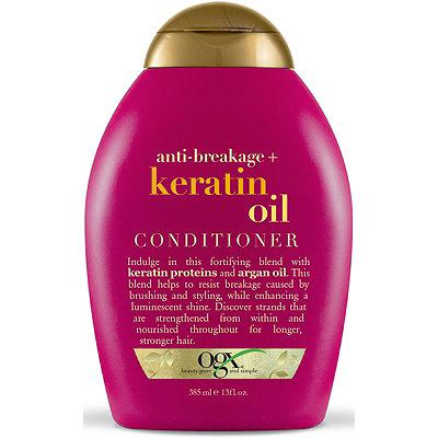 OGX Anti-Breakage + Keratin Oil Conditioner, 13 Oz