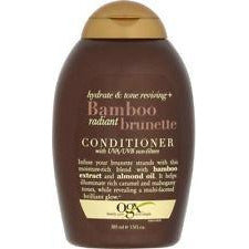 OGX Conditioner Bamboo Radiant Brunette 13 Ounce (385Ml)
