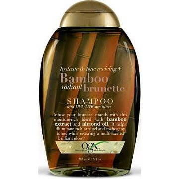 OGX Hydrate & Tone Reviving + Bamboo Radiant Brunette Penetrating Oil, 13 Oz