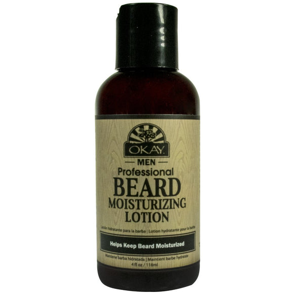 Okay Beard Castor Oil Lotion 4 OZ