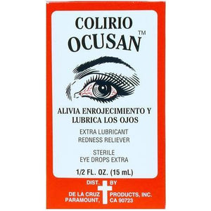 Ocusan Maximum Strength Redness Relief & Lubricant Eye Drops 0.5 Oz
