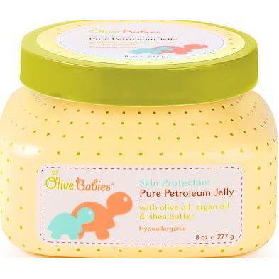 Olive Babies Petroleum Jelly 8 Oz