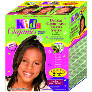 Originals Kid No Lye Kids Coarse Relaxer Kit Super Value Pack