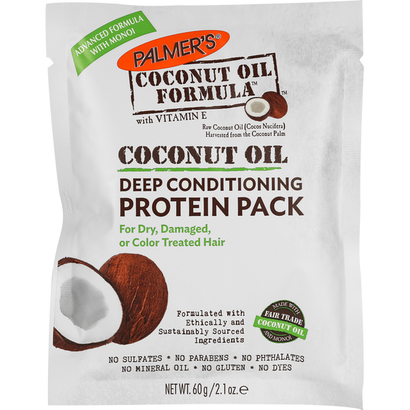 Palmer's Coconut Oil Deep Conditioning Protein - 2.1 Ounce (12 Pack)