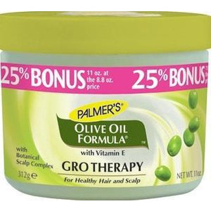 Palmer's Olive Oil Formula With Vit E, Jamaican Black Castor Oil Olive Oil Gro Therapy 11 Oz