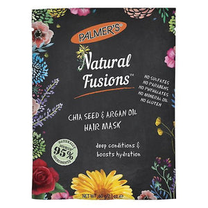 Palmers Natural Fusions Chia Seed & Argan Hair Mask, 2.1Oz