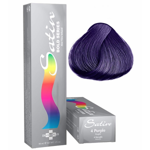 Satin Bold Series Hair Color 4 Purple