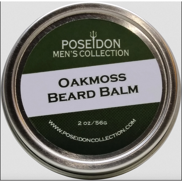 Poseidon Men's Collection - Oakmoss Beard Balm