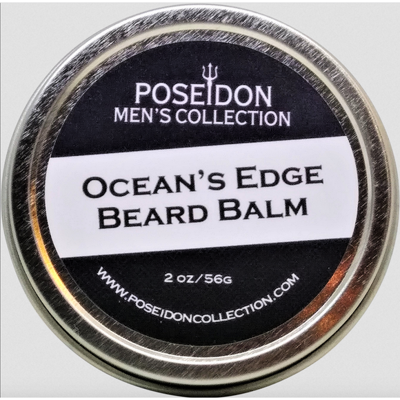 Poseidon Men's Collection - Ocean's Edge Beard Balm