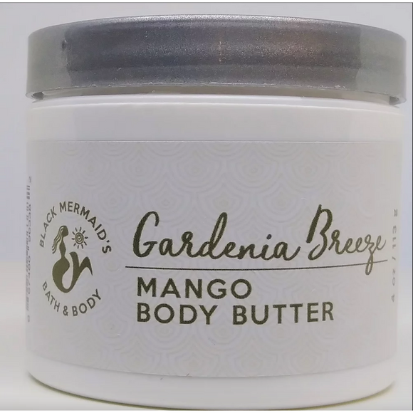 Black Mermaid's - Gardenia Body Butter